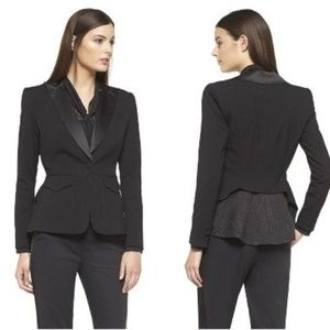 Altuzarra Target tuxedo jacket blazer snake peplum